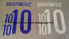 Patch Flocage IBRAHIMOVIC SUEDE PSG HOME AWAY maillot jersey shirt camiseta .