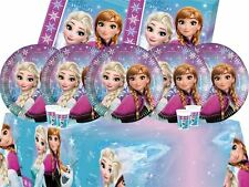 Disney Frozen Princess Birthday Girls Complete Party Tableware Decoration
