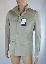 Giacca Uomo Sahariana FB FASHION Made in Italy LU050 Tg 44 46 48 50 54(rrp 179€)