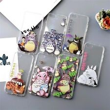 Studio Ghibli MY NEIGHBOR TOTORO Soft Clear Case Cover for iPhone 6/6s 7 8 Plus