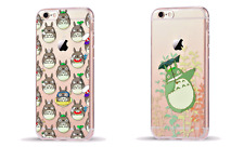 Studio Ghibli MY NEIGHBOR TOTORO Clear Cover Case for iPhone 5/5s/SE 6/6s 7 Plus