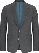 Remus Uomo Jacket - Remus Uomo Men's Novo Wool Blazer Jacket Grey