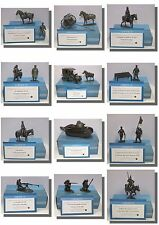World War 1 (WW1) Metal Figures Artillery, Tanks, Soldiers, 1/24 Cavalry, Milita
