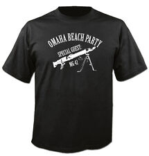 tee-Shirt Pull à capuche Sweat MG42 OMAHA PLAGE FÊTE WW2 CULT Allemagne Allemand