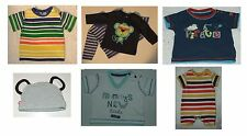 Baby Boys 0-3 Months Cotton Tops Marks & Spencer George F&F Blue Zoo
