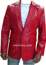 New Soft Genuine Leather Lambskin Motorcycle Biker Jacket Blazer Bomber Coat 403