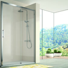 Mampara de ducha Kassandra, 400 (CU607+CU602) Transparente (Antical Easy Clean),