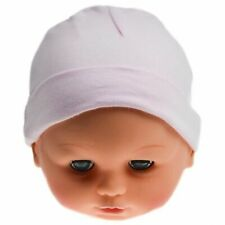 Baby girls pink 100% cotton hat new born newborn 0-3 months hats new hamper