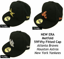 NEW ERA METFOLD MLB 59FIFTY FITTED CAP - ASTROS/BRAVES/YANKEES