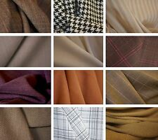 Dress Making / Suiting Fabric - Sold By The Metre - Various Designs
