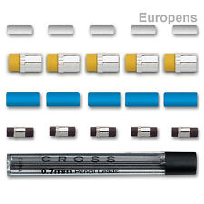 Cross Mechanical Pencil ERASERS & LEADS Refills 0.5 / 0.9 / 0.7 mm