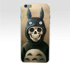 Studio Ghibli MY NEIGHBOR TOTORO Skull Cover Case for iPhone 5/5s/SE 6/6s 7 Plus