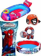 Spiderman Ultimate Marvel Floats/Ball.Ring/Mat/Mask/Pool-Summer Special