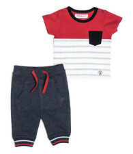 Baby Boys T-shirt & Jogging Bottoms Outfit - Red (0-3 Months)
