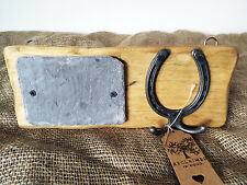 Pony / Horse STABLE DOOR name plaque & headcollar hook handmade! Mother Day Gift