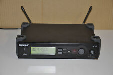 Shure SLX Wireless Radio Microphone Receiver Base Unit  -  S6 865 MHz