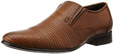 Lee cooper lc2149 Men S Tan Leather Formal Shoes