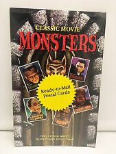 Karloff Chaney Universal Monsters 20 NEW Sealed US Post Cards USPS