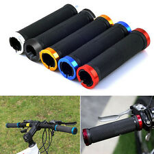 1Pair Cycling Bike Bicycle MTB Handlebar Grips Rubber Anti-slip Handle Grip OK