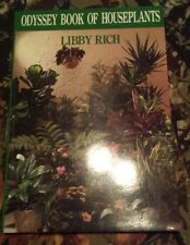 Odyssey Book of Houseplants by Libby Rich New in plastic paperback