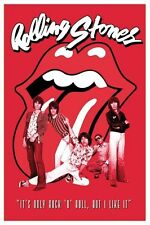 New The Rolling Stones It's Only Rock & Roll Poster