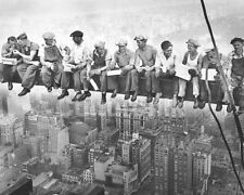 New Iconic Vintage New York Scene Men on a Girder Poster Card