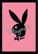 New Playmate Pink Bunny Logo Playmate Mini Poster