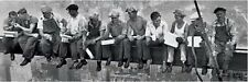 New Men On A Girder Eating Lunch New York City Collection Slim Poster