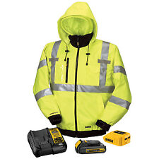 DeWALT DCHJ070C1-M 20V MAX Medium Class III High-Vis 3-N-1 Heated Jacket Kit