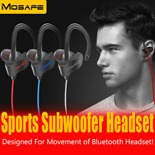 Wireless Bluetooth Headset Stereo Earphone Sport Headphone for iPhone Samsung LG