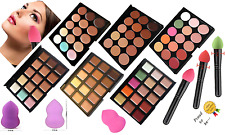 15 Colors Concealer Palette with Blender Puff Brush Face Makeup Contour Cream