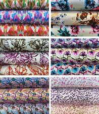 Beautiful Printed Rayon Twill Fabric - Sold By The Metre