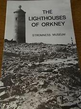 Vintage 1975 Stromness Museum Booklet THE LIGHTHOUSES of ORKNEY Orkney Scotland