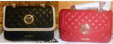 100% AUTHENTIC LOVE MOSCHINO Quilted Shoulder Bag/2 Way Bag (RRP £190)