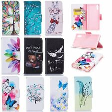 Magnetic Flip Folios Case for Sony Xperia Phones PU Leather Wallet Stand Cover