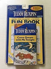 NEW Teddy Ruxpin Book/VHS tape, Come Dream With Me Tonight, Yes! Ent. NIP 962937
