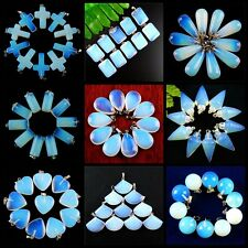 Wholesale Exquisite Mixed Shaped Opal Opalite  Pendant Bead  W-DB