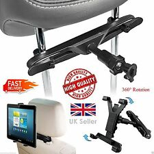 Universal Adjustable Car Headrest Seat Mount Holder For All IPad Samsung Tablets