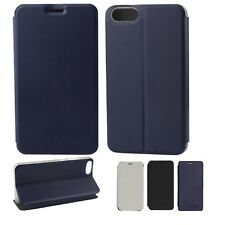 For DOOGEE Shoot 2 Phone PU Leather Stand Flip Protective Built-in Case Cover