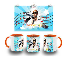 tasse ORANGE PITBULL PIT BULL MUSIC MUSIK reggaeton BECHER tazza tasse ist