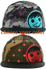 Neff Camo Corpo Dot Camouflage Corp Mens Womens Adjustable Snapback Cap Hat NEW