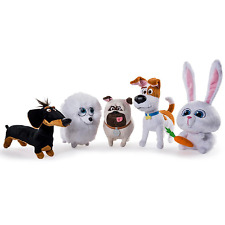 The Secret Life of Pets Plush Soft Toys Buddy,Mel,Gidget,Max,Snowball