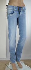 Jeans Donna Pantaloni MET Made in Italy Slim Fit BeeGees/E SA141 Tg 25