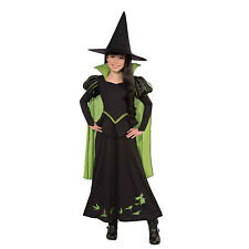 Wicked Witch Of The West Girls Wizard Of Oz Book Fancy Dress Costume 886489