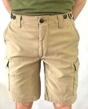 """Mens Polo Ralph Lauren Chino Shorts Beige Brown Classic Fit 31"""" 32"""" 33"""" 34"""" Sale"""