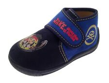 Kids Boys Jake Neverland Pirates Slippers Booties Shoes Boots Xmas Gift Size