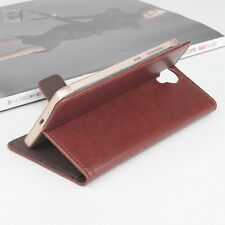 Fashion PU Leather Print Flower Wallet Case Cover For Homtom HT7 Pro Phone