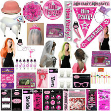 Ladies Hen Party Night out Veil Balloon Girls Fancy Dress Party Accessories