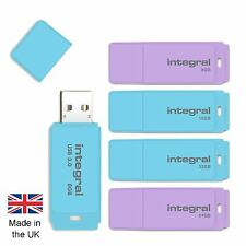 8GB 16GB 32GB 64GB USB Memory Stick for Windows, iMac, Macbook in Pastel Colours