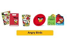 ANGRY BIRDS  - Birthday PARTY RANGE (Tableware/Balloons/Decorations) GEMMA